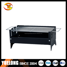 Square Simple Charcoal BBQ Grill, Mini Simple Charcoal Barbeque Grill, BBQ Grill