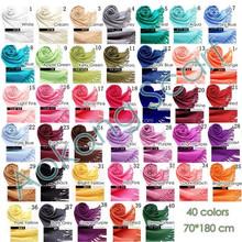 Wholesale plain wedding solid color 30% silk 70% pashmina scarf