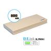 Premium Ultra-thin Power Bank 8000mAh. High Capacity External Battery Rapid Charging for Apple