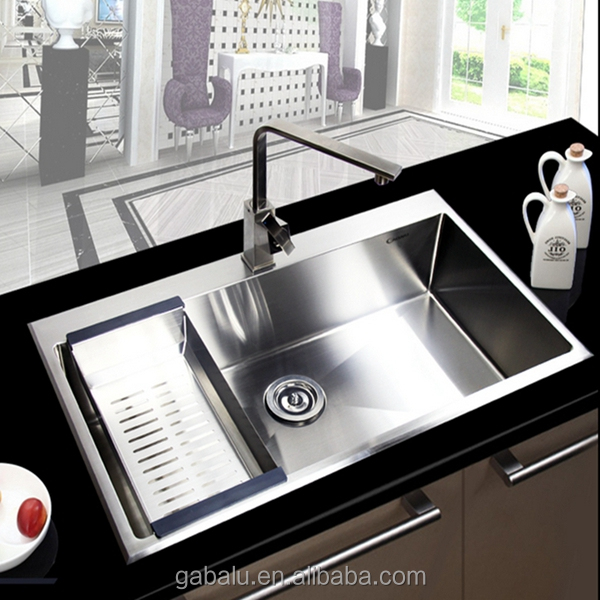 Best Quality Undermount 304 Stainless Steel Kitchen Sink 6159d - Buy ...