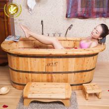 KX wood indoor sex bath tub with soft bathtub headrest