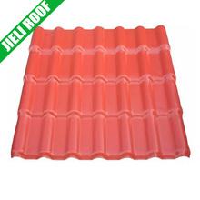 cheap plastic spanish pvc material roof tile