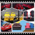 entretenimiento e interacción en el sistema de cine en el mini 7D