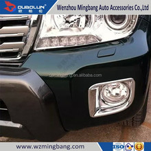 for 2012 Toyota Land Cruiser FJ-200 Exterior Accessories High quality ABS chrome Car front fog light cover