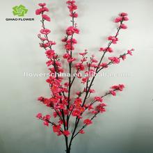 Factory price hot sale artificial plum blossom best artificial flowers