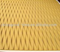 MDF carved wave board(decorative grille panel )