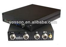 4ch de la cámara de almacenamiento sd card gps dvr móvil para el bús/vehículo/coche/taxi/coche de policía/la gestión de la flota