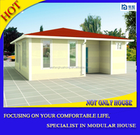 EPS sandwich panel prefab modern house quick installation modern prefab house designs prefab modular guest house for kenya