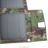 Tones Solar Charger 15W Monocrystalline Intelligent Controller USB Water-resistant Solar Charger