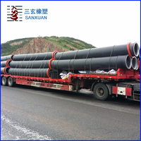 Flexible hdpe Sewer Pipe with factory prices for Dredging for Sale