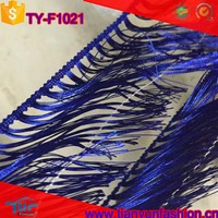 china factories directly custom color dyed fringe trims for clothing