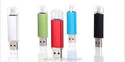 OTG android usb flash drive 2gb 4gb, 8gb, 16gb, 32gb, 64gb custom otg usb flash drive