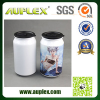 New Arrival 500ml Sublimation Cola Shaped Aluminium Can (SC-W)