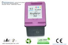 Pontos de venda rápida #61b/#61c cartuchos jato de tinta para impressora hp deskjet 2050( j510a)1050/2000/3000/3050
