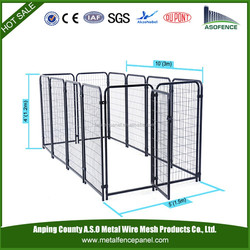 China wholesale portable dog playpen / Chainlink Cage / Chainlink Cage Backyard (factory)