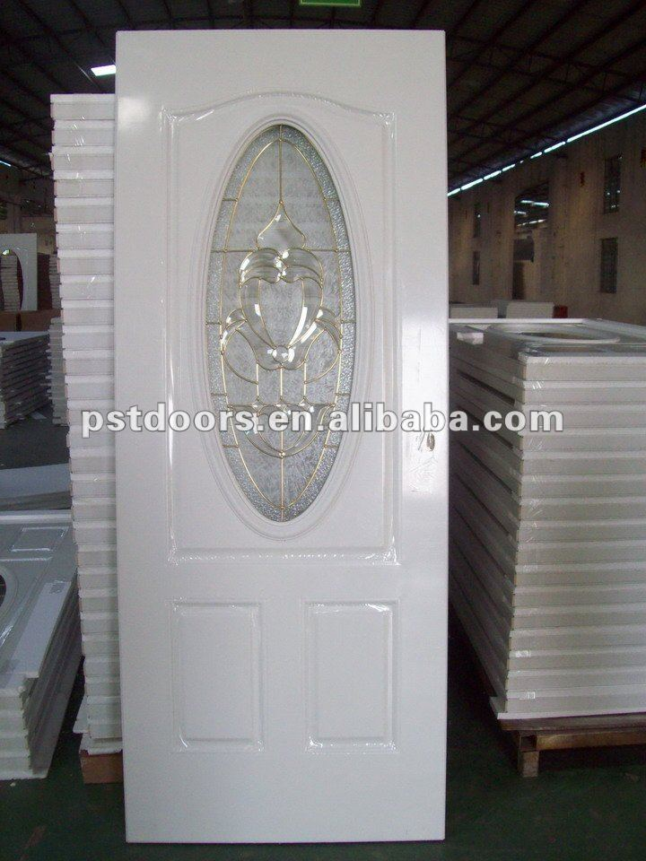 Oval Glass Entry Door Small Oval Glass Steel Door Steel