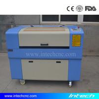 high configuration!!! wool felt laser cutting machine 6090 Intech home fabric laser cutting machine