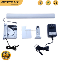 Aluminium profile adjustable battery / adapters support wardrobe lights in the closet for modern house