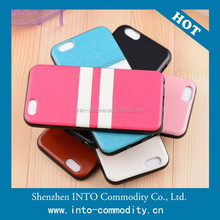 5 Colors Stripes Case For Iphone 6