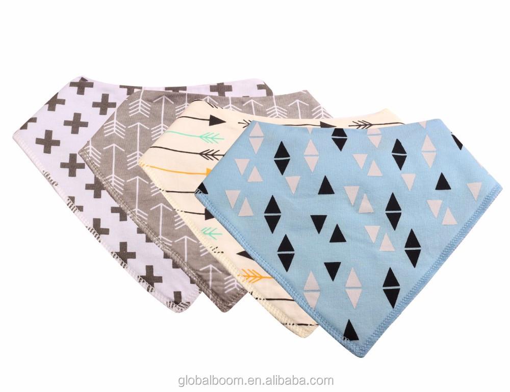 foulard triangle gar on filles b b salive serviette dribble bavoir b b id de produit. Black Bedroom Furniture Sets. Home Design Ideas