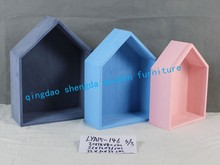 LYA15-146 three color wooden furniture---- box nest