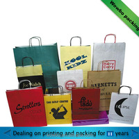 custom made shopping paper bag from china supplier