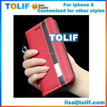 For Apple iPhone 6 4.7 inch leather Ultra Thin Case Protector, pu leather case for iphone 6