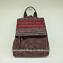 tianfenghandbag Vintage leather backpack women fashionable casual style PU backpack korean style