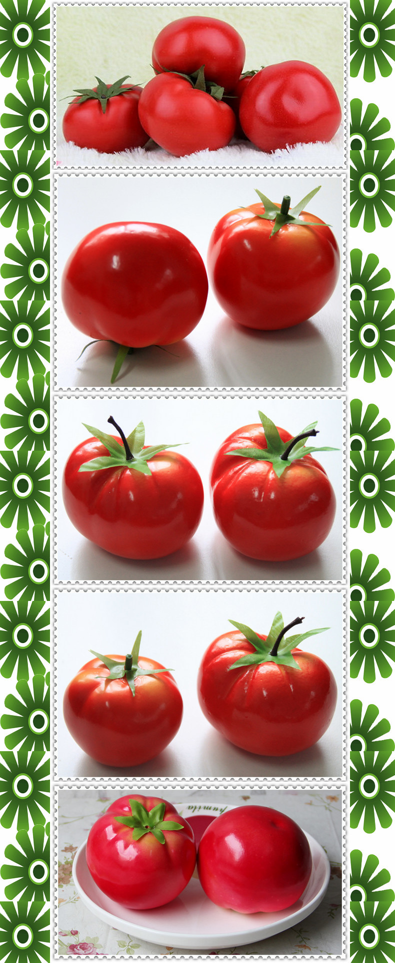 Faux Fake Tomato Vegetable