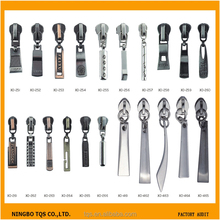 5# Fashion Design Custom Metal zipper slider