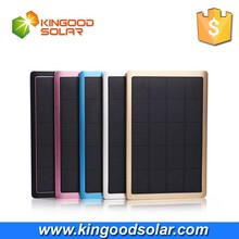 Hot Sale High quality 10000mah charger solar power bank for mobile phones and USB devicecs