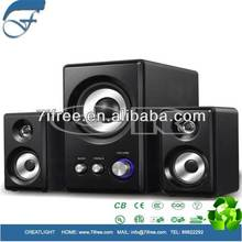 High quality super bass 2.1 computer speakers power sub woofer