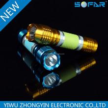 Promotional mini 1 LED flashlight/torch hot item led torch