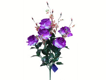 Artifcial Flowers 7 Branches Rose decorative foral Display Garden Plants for wedding Party