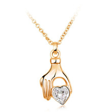 Best products for import ,gold plated heart pendant necklace