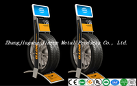 single tire display rack stand NG0014 for retail/exhibition