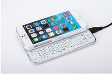 Hotsale IOS smart mobile phone bluetooth 4.0 keyboard for iphone 6