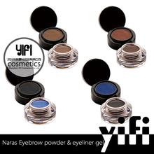 Fashionable new cosmetics brand NARAS waterproof eyebrows &eyeliner gel
