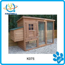 Medium size wooden chicken coop with with two laying nests/wood chicken house