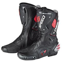Waterproof Motorcycle Off road Sport Motorbike Racing Leather Boots