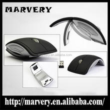 Factory Supply Promotional Best mouse Ergonomic Folding mouse with wireless for desktops and laptops