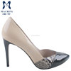 2016 new design beige women dress shoes made in China