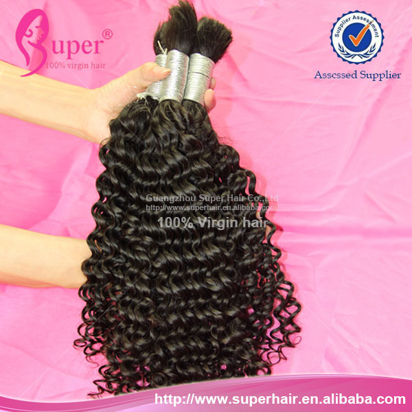 Crochet Braids with Deep Wave Human Hair