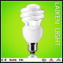 Home/office use half spiral energy saving bulb g9 bulb 5000k energy saving