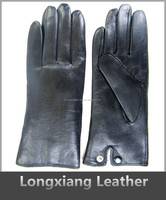 wholesale high quality sheepskin stocks leather glove