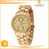new popular ladies fashion alloy watchws with many designs