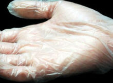 disposable PVC gloves from China for medical/hygiene/food use