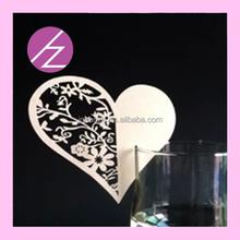 Wholesale craft supplier laser cut paper butterflies wed party decoration JK-53 Haoze brand