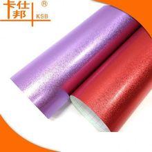 Matt purple vinyl wrapping film ,car sticker air bubble free quality