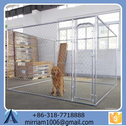Large outdoor strong hot sale strong pretty dog kennel/pet house/dog cage/run/carrier